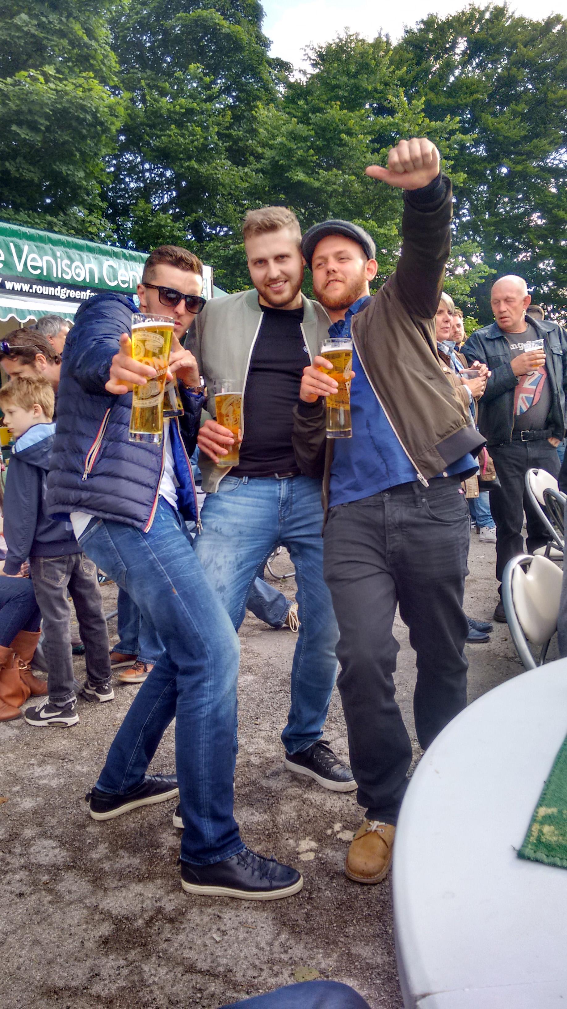 Beer Festival Revellers