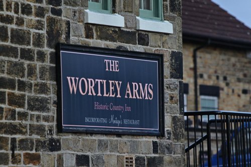 Wortley Arms Signage