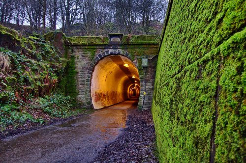 Pennine Trail Tunnel at Thurgoland