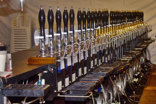 Pumps At Wortley Beer Festival