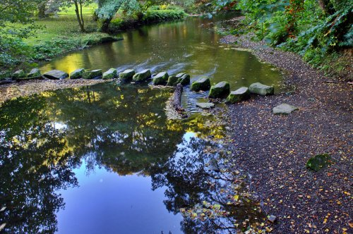 Stepping Stones Across The River Don